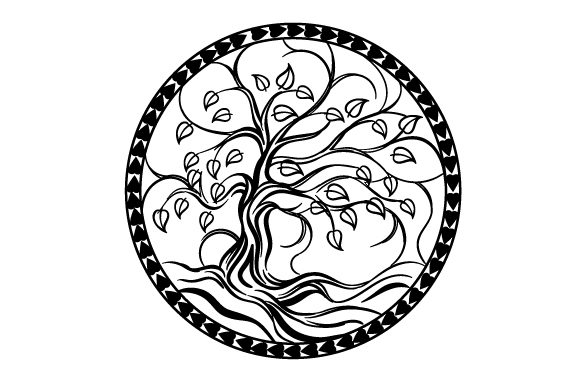 Tree of Life Designs & Drawings Craft Cut File By Creative Fabrica Crafts