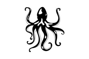 Octopus Designs & Drawings Craft Cut File By Creative Fabrica Crafts 2