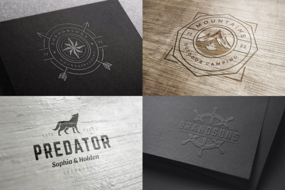 50 Outdoor Logos and Badges Graphic Logos By vasyako1984 - Image 15