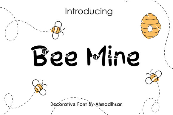 Print on Demand: Bee Mine Decorative Font By Creative Insomniac
