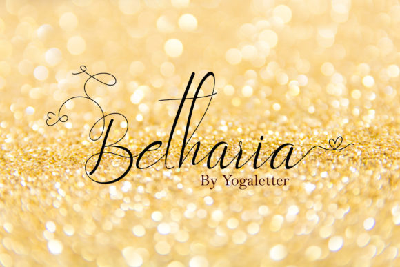 Print on Demand: Betharia Script & Handwritten Font By yogaletter6