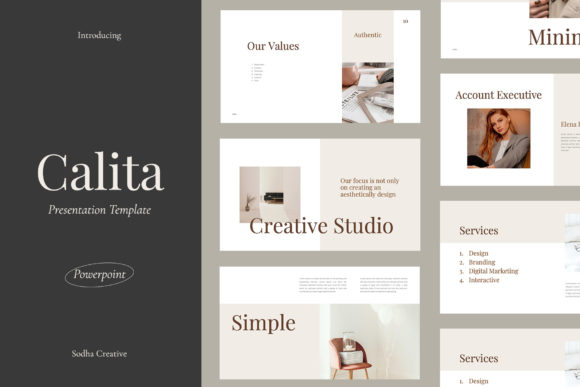 Calita - Powepoint Template Graphic Presentation Templates By sodhacreative