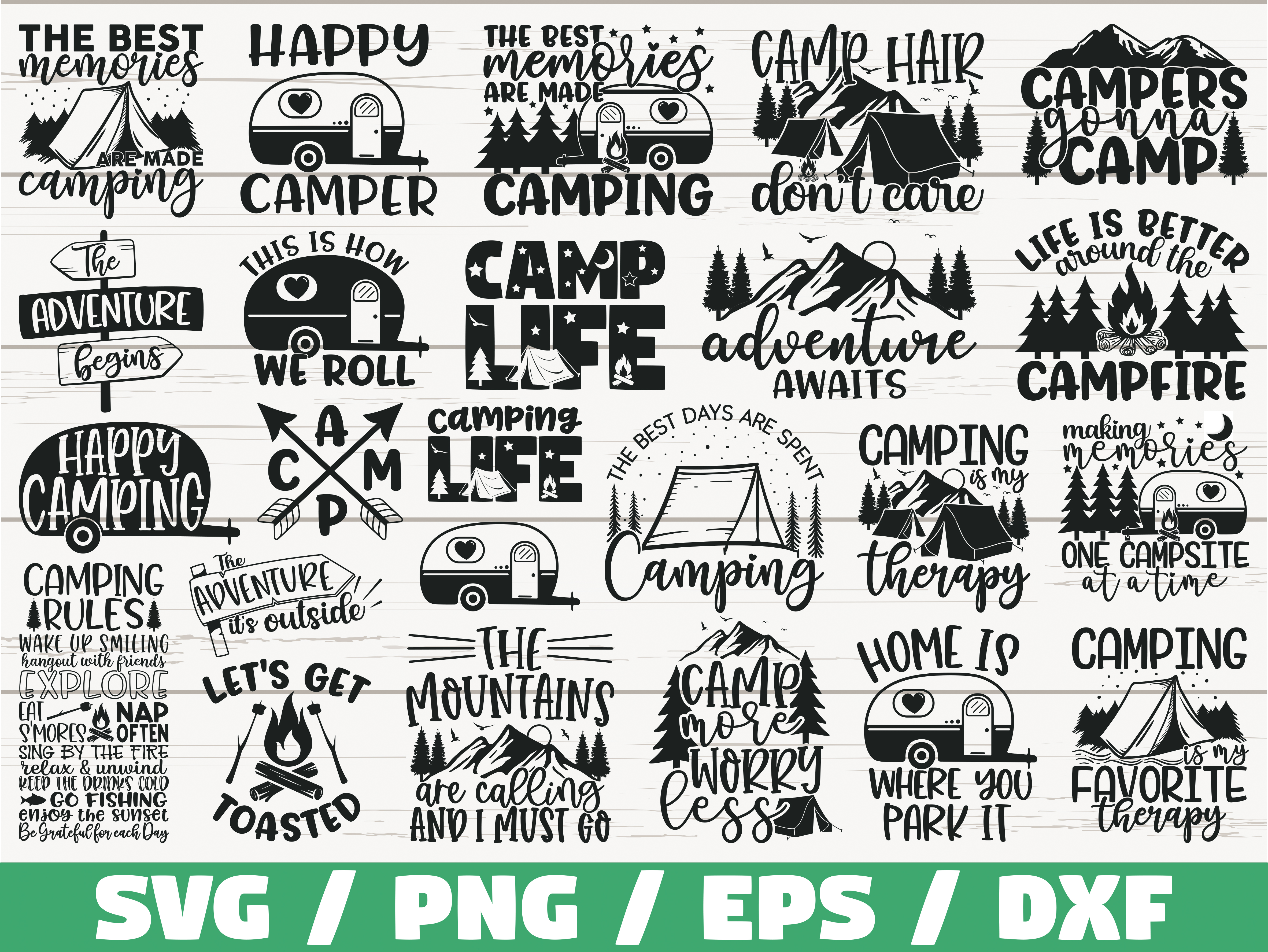 Download Happy Camper Svg File Free Free Svg Cut Files For Commercial Use
