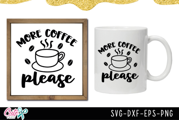 Coffee Sayings Bundle Graphic Illustrations By Cute files - Image 2