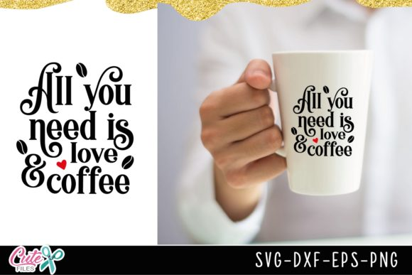 Coffee Sayings Bundle Graphic Illustrations By Cute files - Image 4
