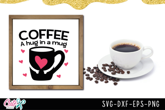 Coffee Sayings Bundle Graphic Illustrations By Cute files - Image 6