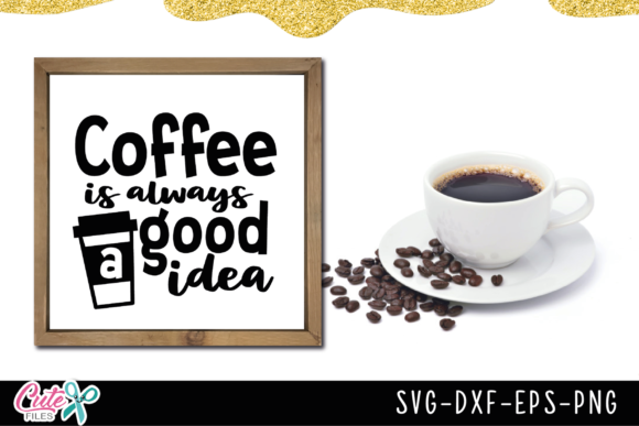 Coffee Sayings Bundle Graphic Illustrations By Cute files - Image 8