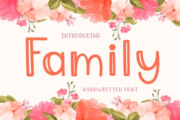 Print on Demand: Family Display Font By Ality