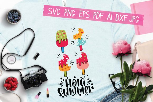 Hola Summer Graphic Crafts By HKFK Studio