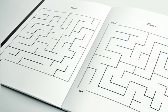 Print on Demand: 5000 Mazes for AdultsKDP Bundle Graphic KDP Interiors By KDP Product - Image 2