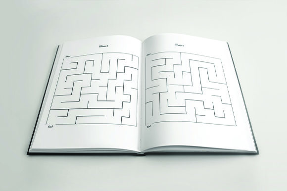 Print on Demand: 5000 Mazes for AdultsKDP Bundle Graphic KDP Interiors By KDP Product - Image 3