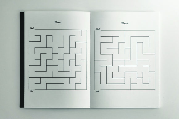Print on Demand: 5000 Mazes for AdultsKDP Bundle Graphic KDP Interiors By KDP Product - Image 4