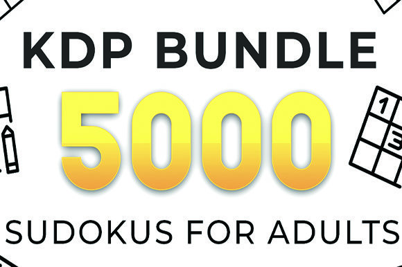 Print on Demand: KDP Bundle 5000 Sudokus for Adults Graphic KDP Interiors By KDP Product