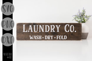Laundry Sign Farmhouse Graphic Crafts By adelinenco