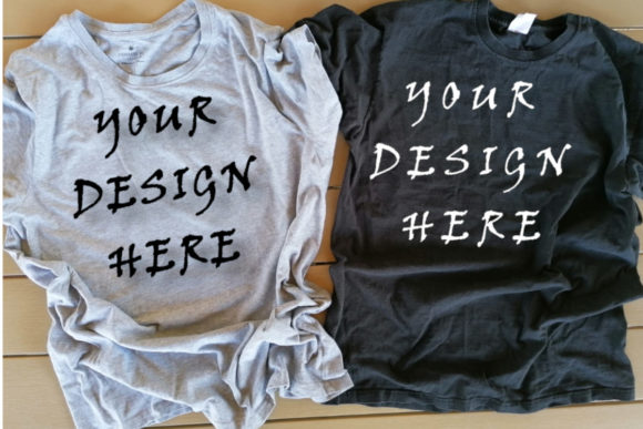 Matching T-shirts Mockups, Family Graphic Product Mockups By ArtStudio
