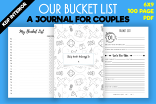 Print on Demand: Our Bucket List Journal | Kdp Interior Graphic KDP Interiors By MK DESIGNS