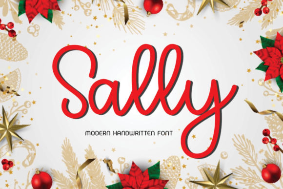 Print on Demand: Sally Script & Handwritten Font By Ality