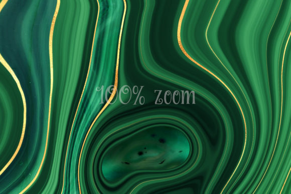 Print on Demand: Strata Malachite Textures Graphic Textures By Digital Curio - Image 6