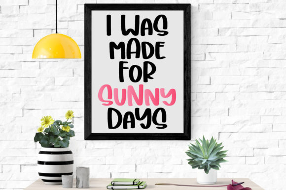 Print on Demand: Sunny Display Font By BitongType - Image 2