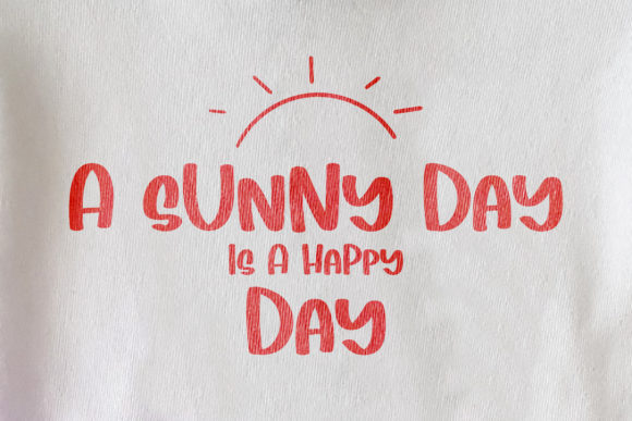 Print on Demand: Sunny Display Font By BitongType - Image 4