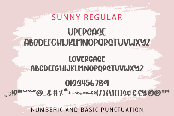 Print on Demand: Sunny Display Font By BitongType - Image 8