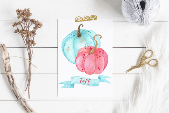 Sweet Fall Cliparts. Pumpkins and Sweets Graphic Illustrations By RedDotsHouse - Image 6