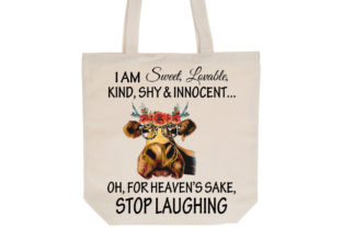 Print on Demand: Sweet Innocent Stop Laughing Graphic Illustrations By RamblingBoho 2