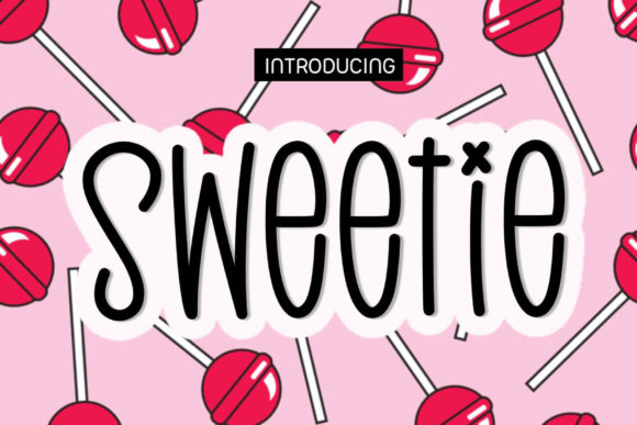 Print on Demand: Sweetie Script & Handwritten Font By Ality - Image 1