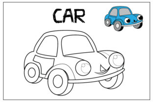 Print on Demand: Coloring Pages for Kids Graphic Coloring Pages & Books Kids By curutdesign 3