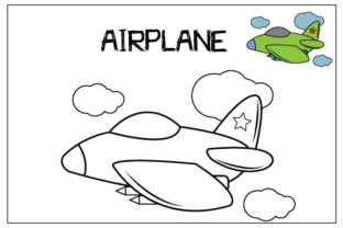 Print on Demand: Coloring Pages for Kids Graphic Coloring Pages & Books Kids By curutdesign 4