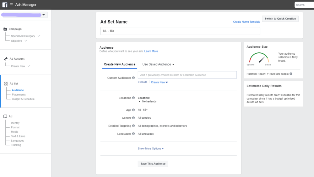 how to create an ad on facebook for your print on demand store