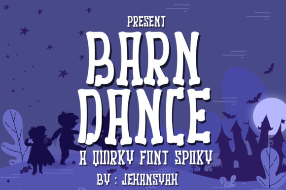 Print on Demand: Barn Dance Display Font By jehansyah251