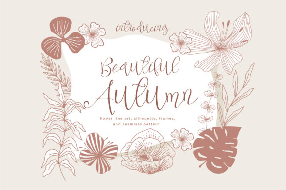 Print on Demand: Beautiful Autumn Graphic Illustrations By Caoca Studios