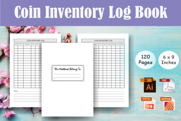 Print on Demand: Coin Inventory Log Book - KDP Interior Graphic KDP Interiors By Sei Ripan