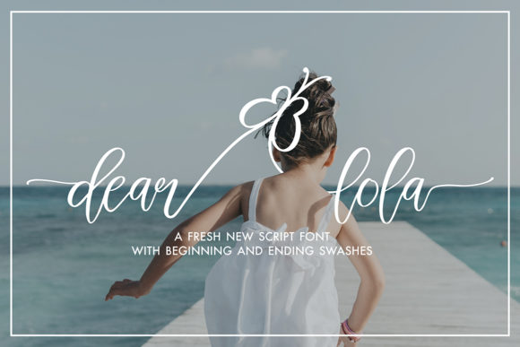 Print on Demand: Dear Lola Script & Handwritten Font By Masha Artifex
