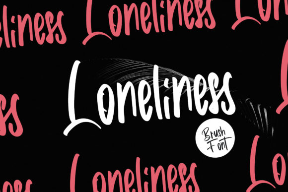 Print on Demand: Loneliness Script & Handwritten Font By Vunira