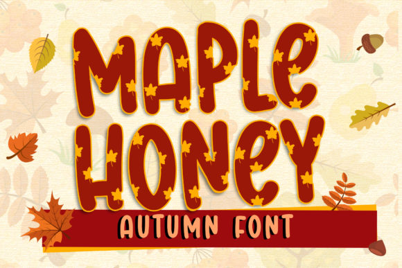Print on Demand: Maple Honey Display Font By dmletter31