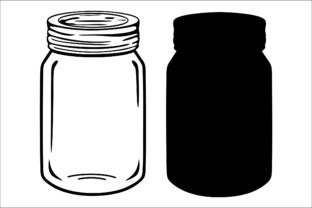 Mason Jar Graphic Product Mockups By Fast Store