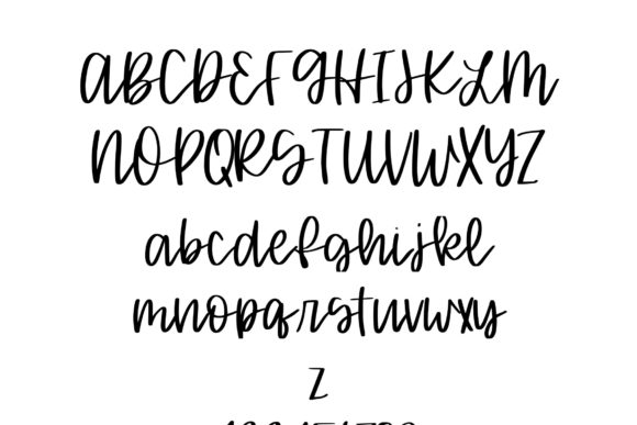 Print on Demand: Oatmeal Cookie Script & Handwritten Font By Fairways and Chalkboards - Image 2