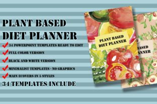 Print on Demand: Plant Based Diet Planner Graphic KDP Interiors By Me610520