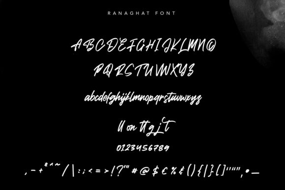 Ranaghat Font Preview