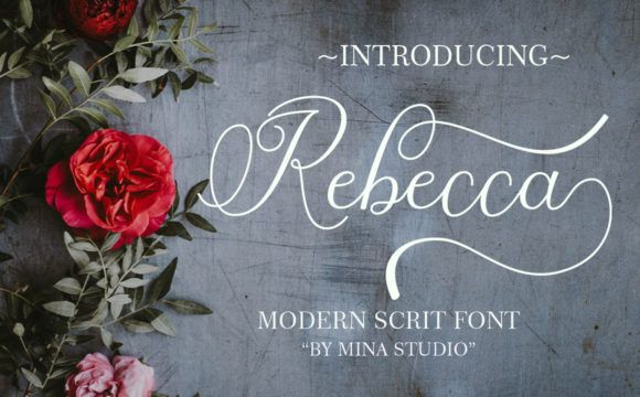 Print on Demand: Rebecca Script & Handwritten Font By Mina studio