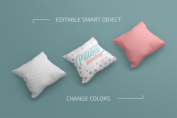 Square Pillow Mockup Set Graphic Product Mockups By country4k - Image 2