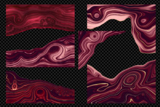 Print on Demand: Strata Garnet Red Agate Textures Graphic Textures By Digital Curio 3