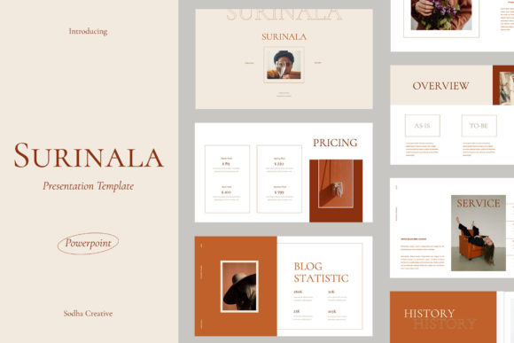Surinala - Powerpoint Template Graphic Presentation Templates By sodhacreative