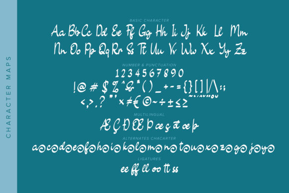 Sweetlilly Font Preview