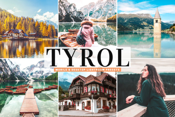 Print on Demand: Tyrol Pro Lightroom Presets Graphic Actions & Presets By Creative Tacos