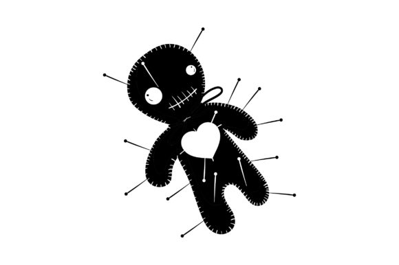 Voodoo Doll Designs & Drawings Craft Cut File By Creative Fabrica Crafts - Image 2