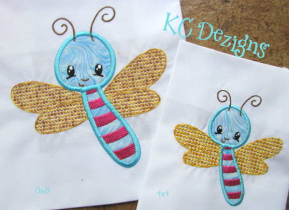 Baby Bug Fly Bugs & Insects Embroidery Design By karen50