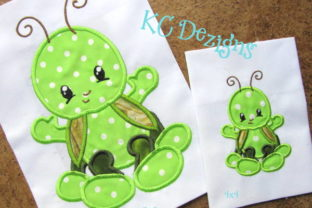 Baby Bug Grasshopper Bugs & Insects Embroidery Design By karen50